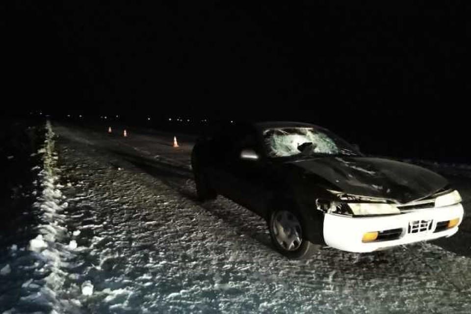 Автомобилист насмерть сбил пешехода на дороге Черемхово - Свирск
