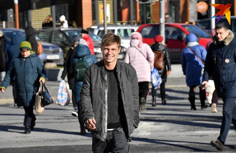 Александр Головин на Немиге в Минске