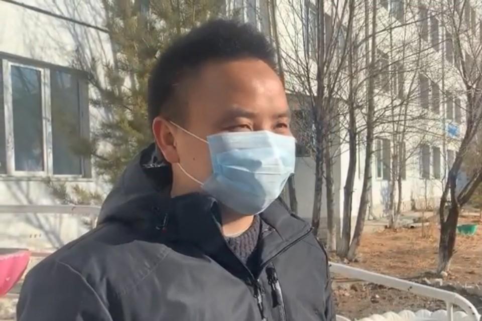 Из больницы Читы выписали гражданина Китая Ван Юньбиня: он вылечился от коронавируса