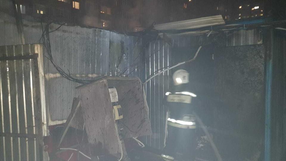 С огнем пожарные боролись час. Фото: пресс-служба ГУ МЧС Краснодарского края.