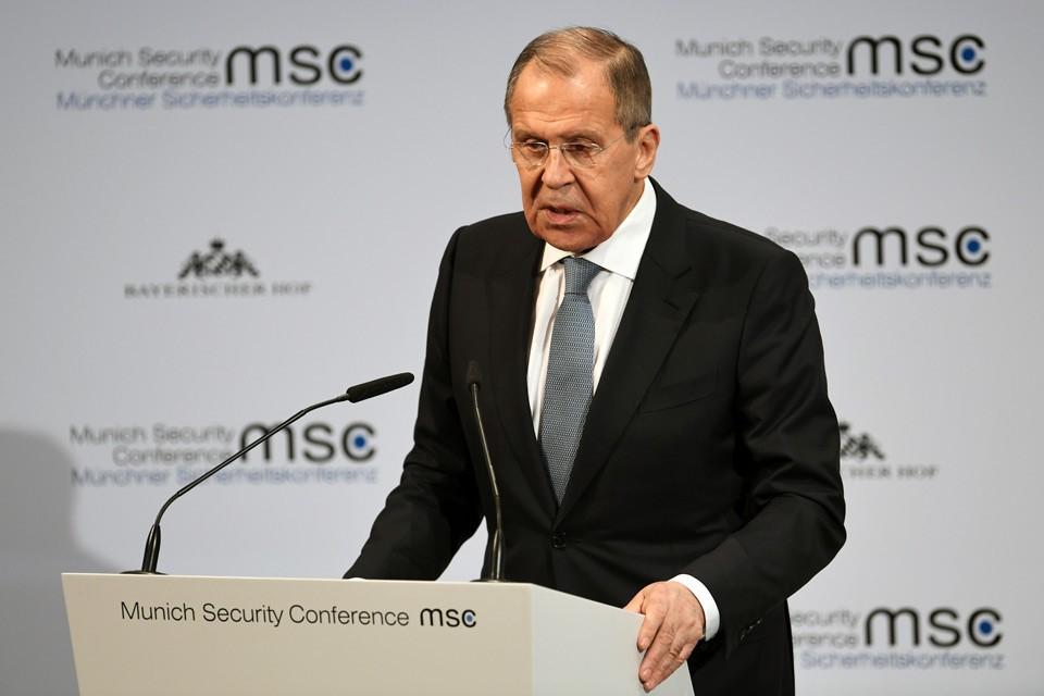 Министр иностранных дел России РФ Сергей Лавров выступил с речью на Мюнхенской конференции по безопасности.