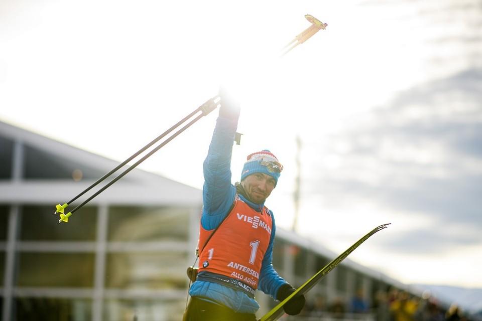 Александр Логинов выиграл уже две медали на чемпионате мира по биатлону.