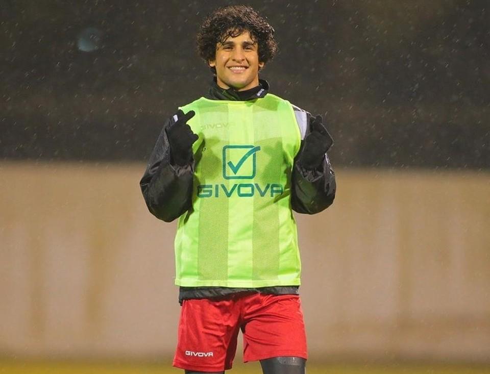К 21-му году Хади провел 14 матчей в составе сборной Ирака ФОТО: инстаграм Сафаа Хади