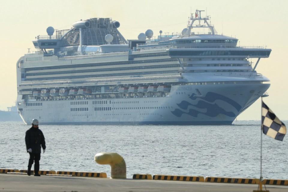 В Японии погибли два заболевших коронавирусом с лайнера Diamond Princess