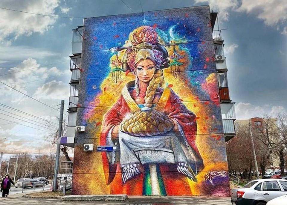 Челябинск славится гостеприимством. Давайте прославим его и граффити. Фото: Граффити и художественная роспись Челябинск.