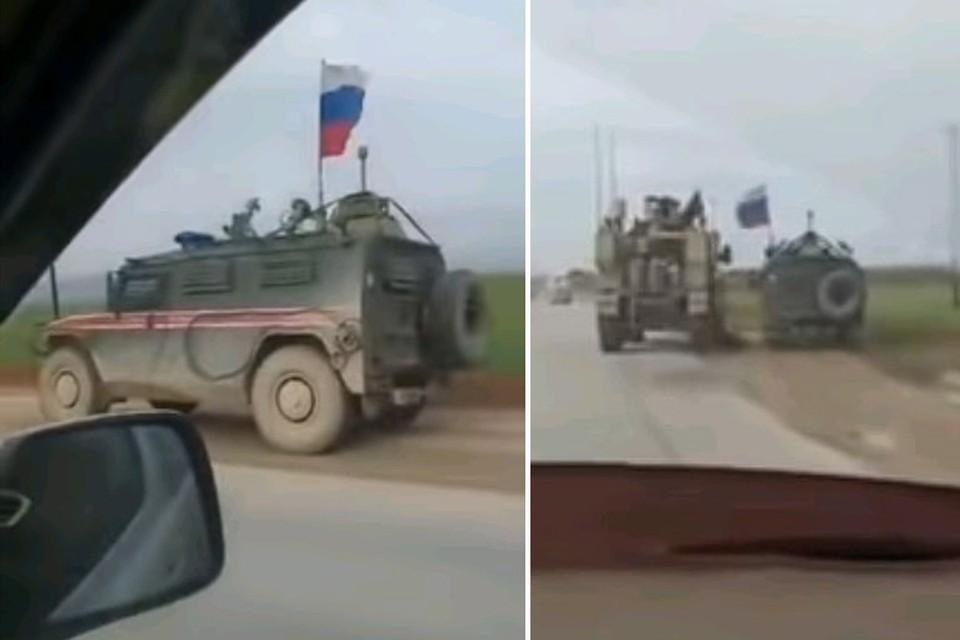В Минобороны России пока не прокомментировали инцидент на сирийской дороге.