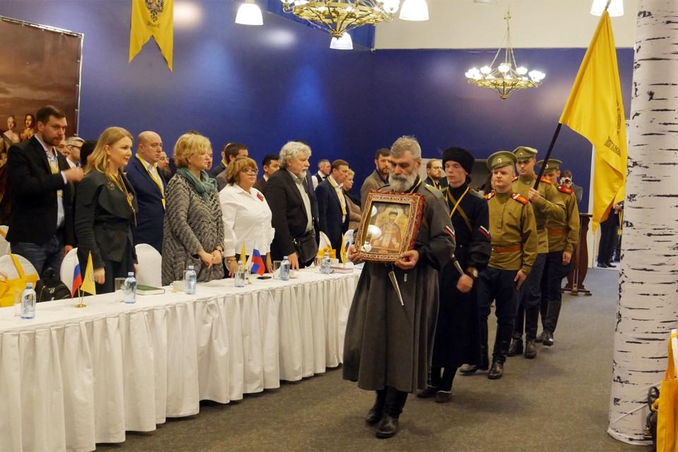Две сотни делегатов из 73 регионов России вновь обсудили свои уставные задачи. Фото: Общество «Двуглавый орёл»