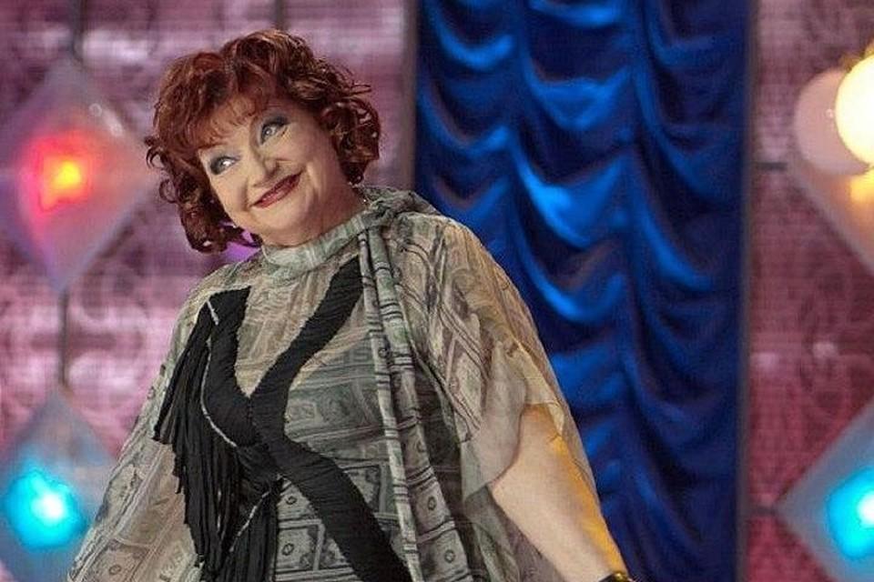 66-летняя артистка вышла в свет