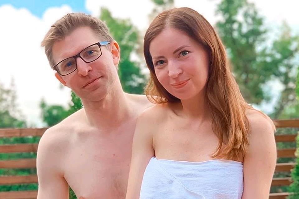 Блогер Екатерина Диденко с мужем Валентином.