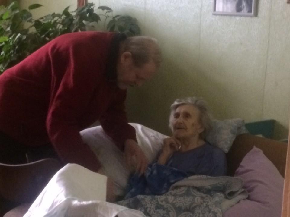 Александра Попова в войну была медсестрой