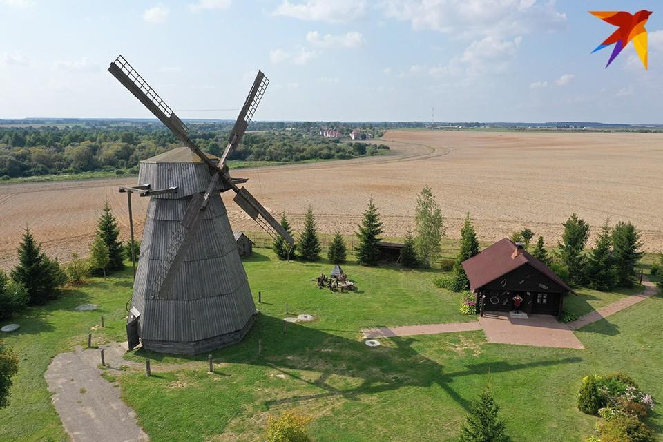 Ветряная мельница в Дудутках.