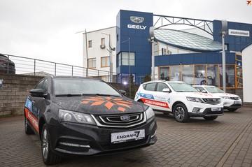 С автомобильным планетарием: в Минске открылся новый автоцентр Geely «Атлант-М Боровая»