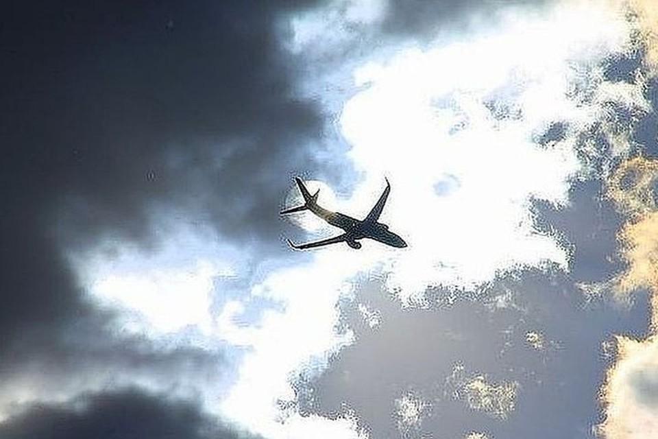 САмолет благополучно приземлился.
