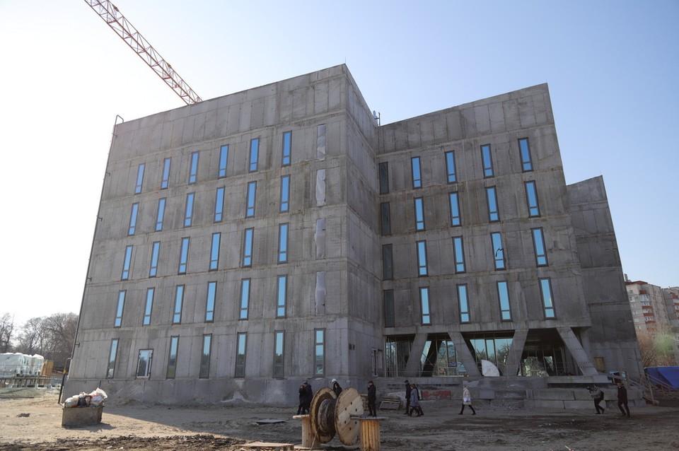 Новое здание областного суда откроет двери для посетителей уже в 2020 году.