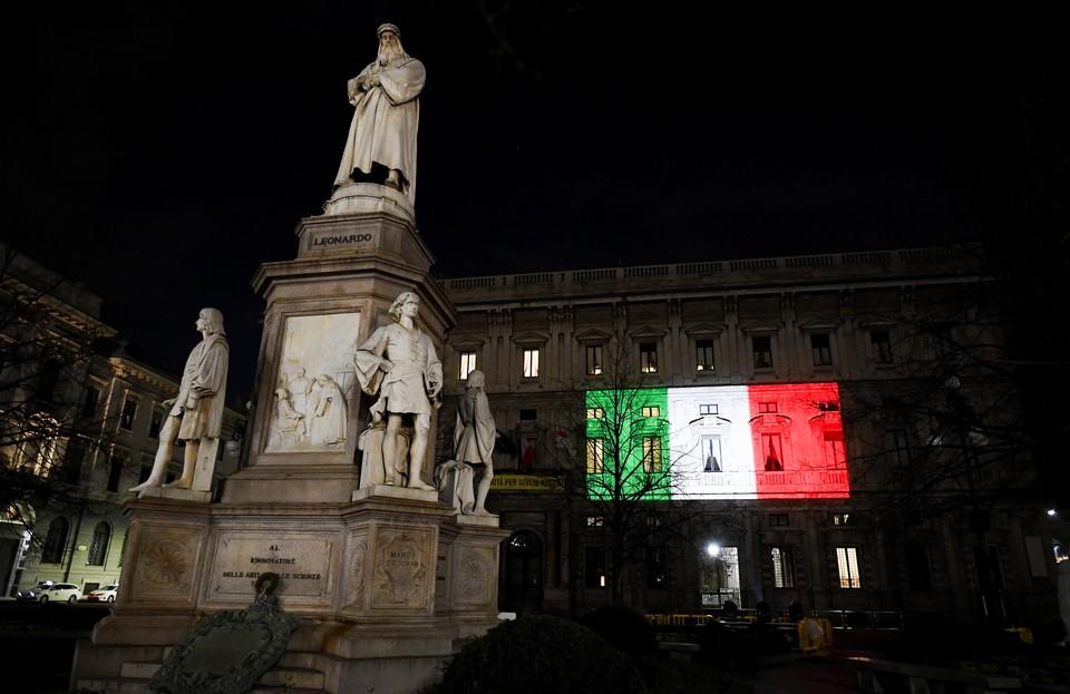 Италия приняла на себя удар китайского коронавируса.
