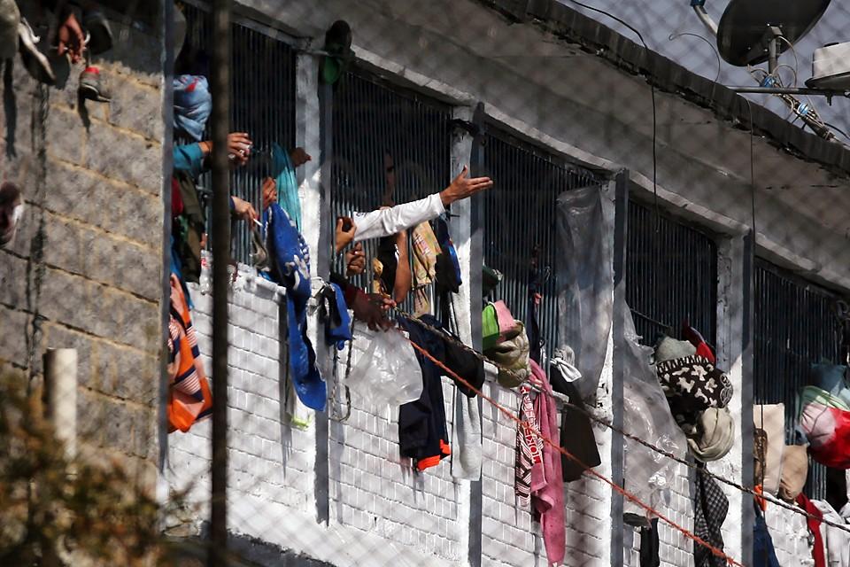 До сих пор в колумбийских тюрьмах обстановка далека от идеальной