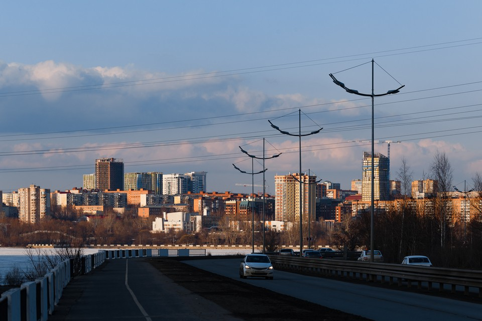 Доброе утро, Ижевск! ФОТО: Архив