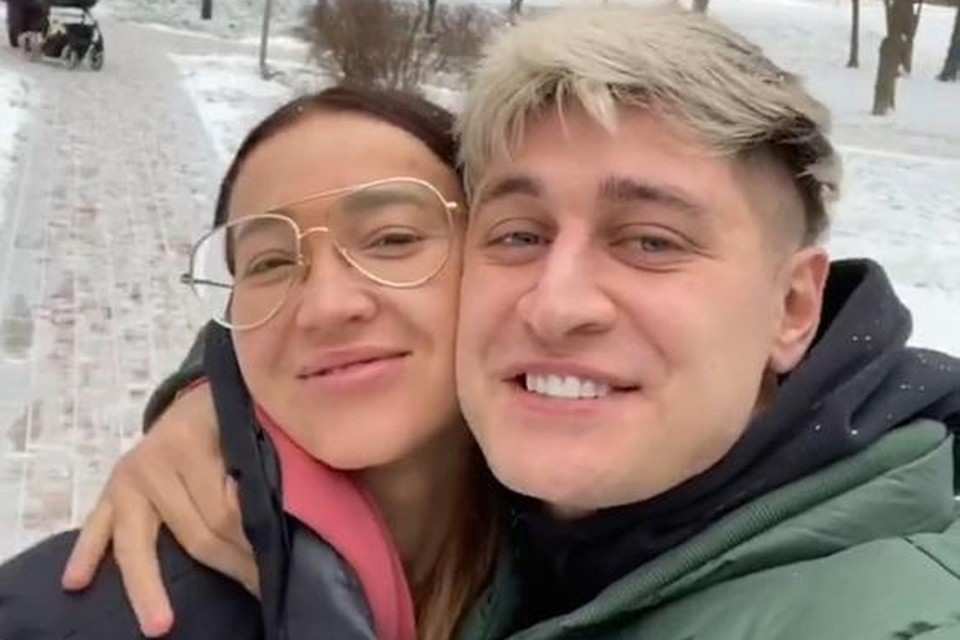 Отношениям Давида и Ольги еще нет и года, но она верит, что они поженятся. Фото: Инстаграм.