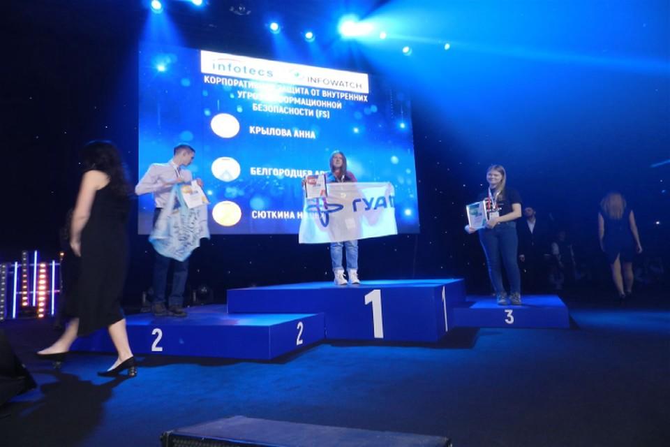 По итогам Финала III межвузовского национального чемпионата по стандартам WorldSkills (Москва) ГУАП был награжден 5 золотыми, 1 серебряной и 1 бронзовой медалями. Фото: Медиацентр ГУАП.
