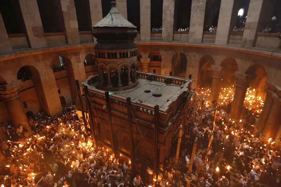 Ходят слухи, что верующих не пустят в Иерусалим, чтобы встречать схождения Благодатного огня