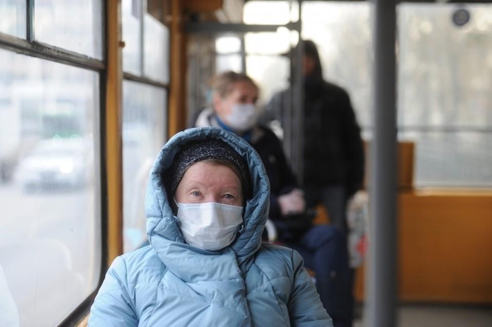 В Астрахани приостановлена работа общественного транспорта