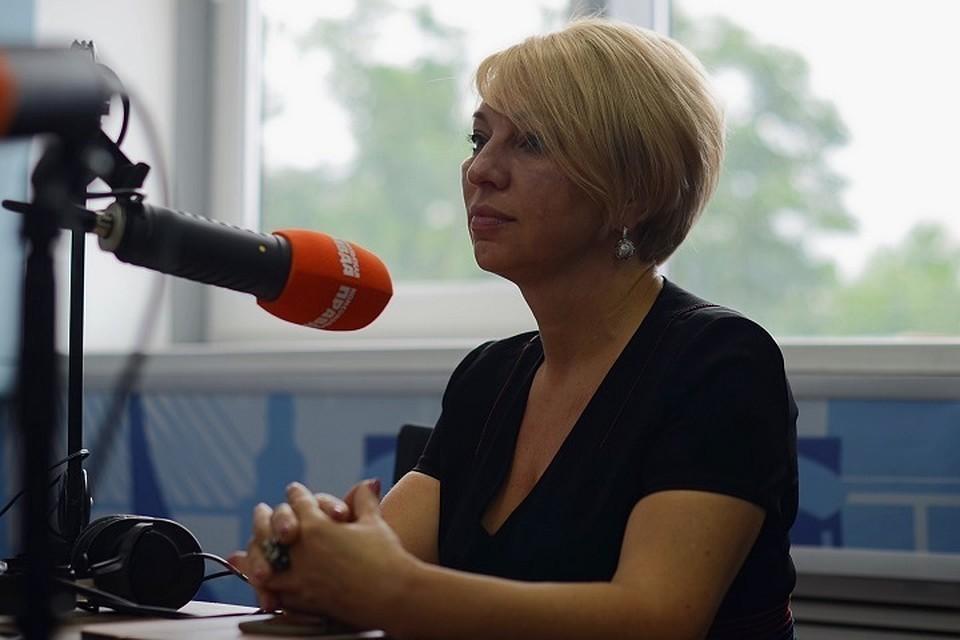 """Наталья Бондаренко приходила в гости на радио """"КП"""""""