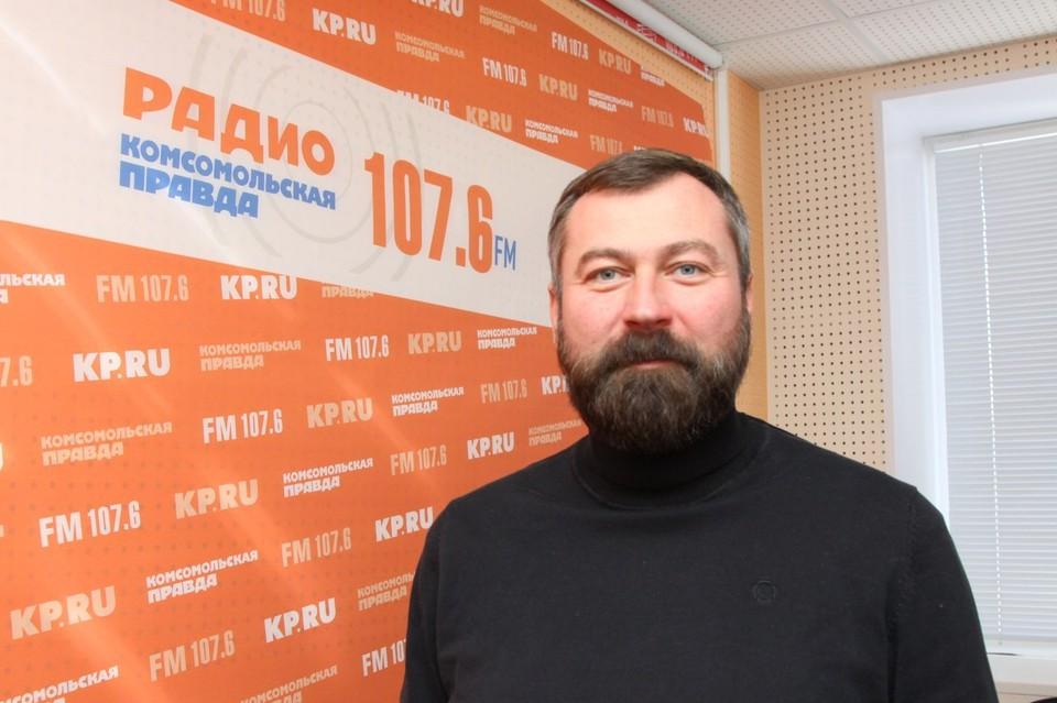 """Генеральный директор АО """"Парки Ижевска"""" Сергей Буторин"""