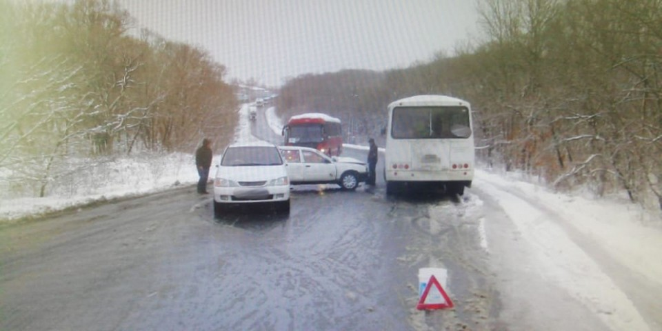 Рейсовый автобус шел по маршруту «Угольная - Артем». фото: сайт УМВД России по Приморскому краю