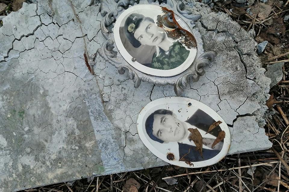 "Вандалы разгромили кладбище в Кимрском районе Фото: vk.com/""Кимры - скандалы, интриги..."""