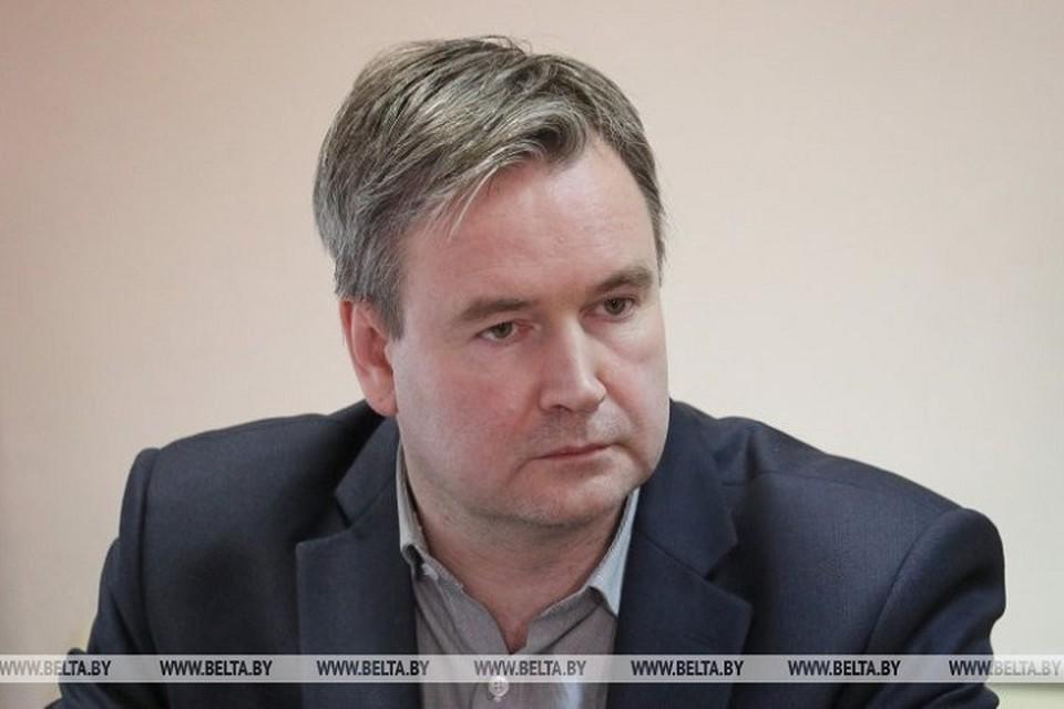 Святослав Вельгин считает, что для Беларуси лучше всего, чтобы произошел пологий подъем заболеваемости по коронавирусу. Фото: belta.by.
