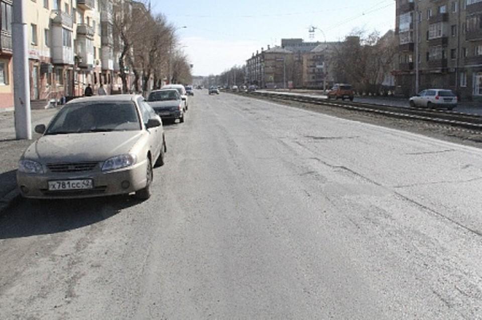 В Кемерове начали ремонтировать улицу Дзержинского. Фото: Пресс-служба администрации Кемерова