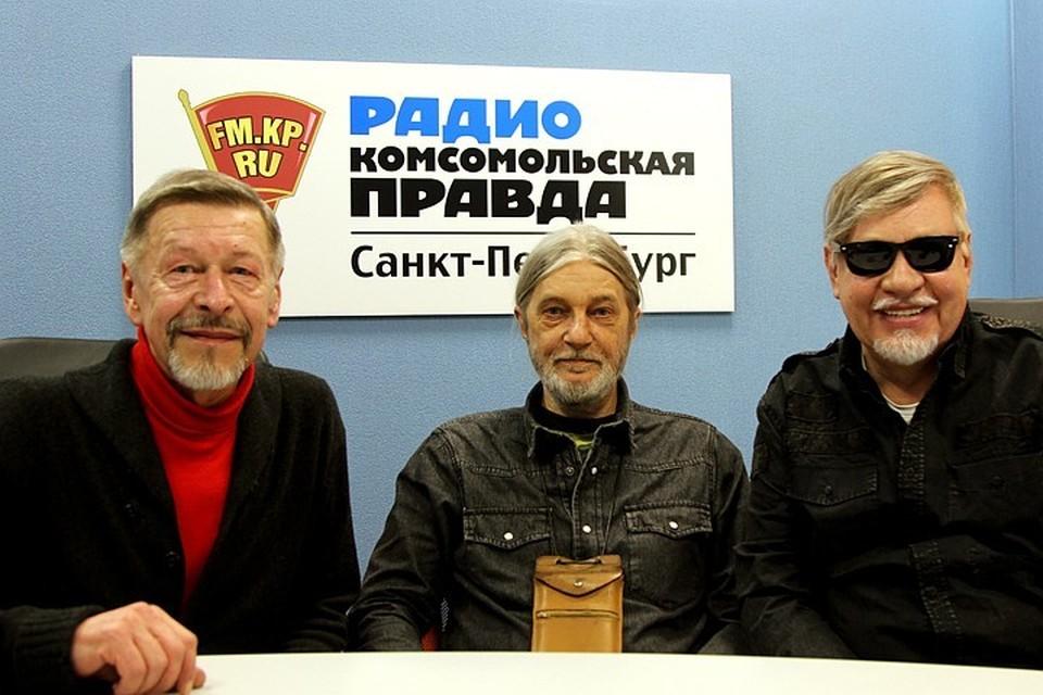 Геннадий Зайцев в студии радио «Комсомольская Правда в Петербурге», 92.0 FM