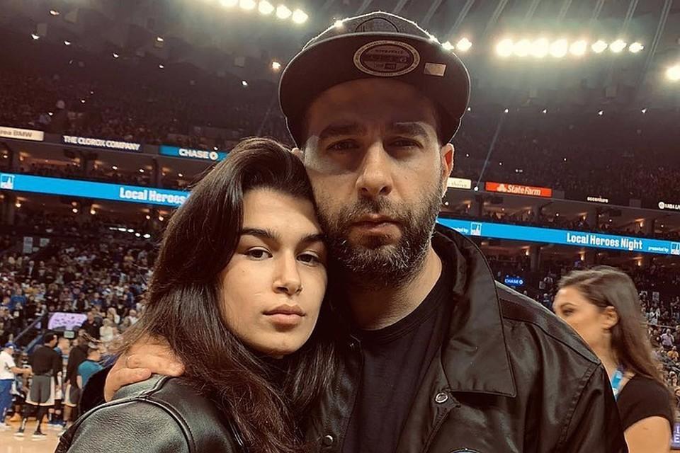 Иван Ургант и старшая дочь Эрика.