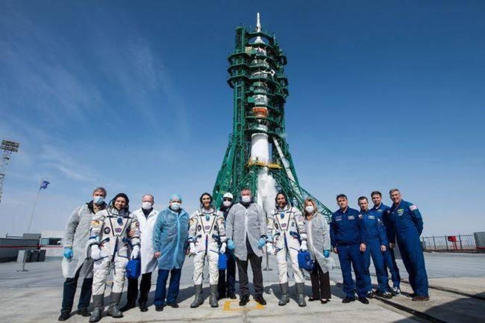 Перед полетом на космодром все специалисты Роскосмоса в обязательном порядке сдавали тесты на коронавирус