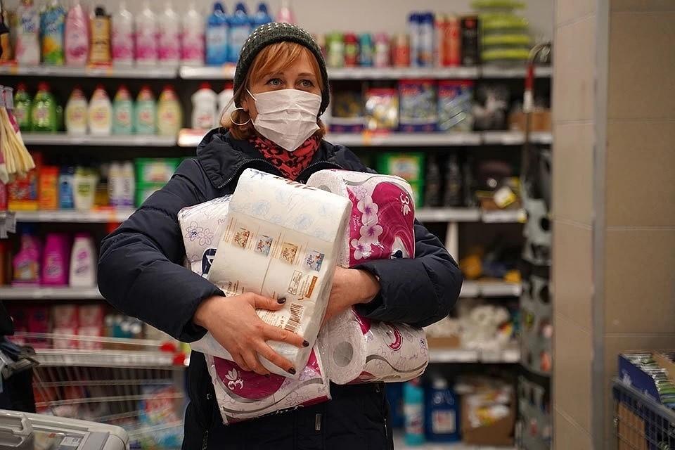 Россияне стали активнее покупать бытовую химию
