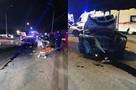 «Перед моей машиной мелькнуло что-то белое»: подробности жуткой аварии на Винаповском мосту, которая покалечила семь человек