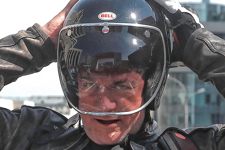 Сергей Доренко во время 2-го Московского мотофестиваля, 2018 год. Фото: Сергей Фадеичев/ТАСС