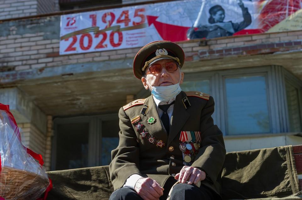 В январе 2020 года Валентину Прокофьевичу исполнилось 104 года!