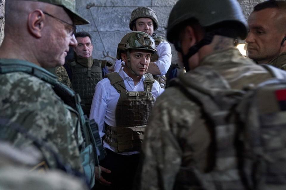 Зеленский не в состоянии остановить озверевших украинских вояк. Фото: ОПУ