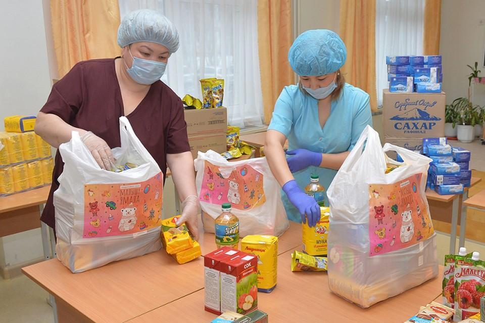 Дошкольники Ямала начали получать продуктовые наборы Фото: yanao.ru