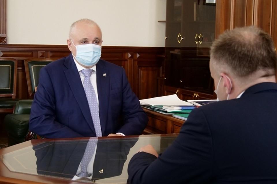 Обманутые дольщики из Кузбасса получат квартиры до конца года. ФОТО: пресс-служба администрация правительства Кузбасса