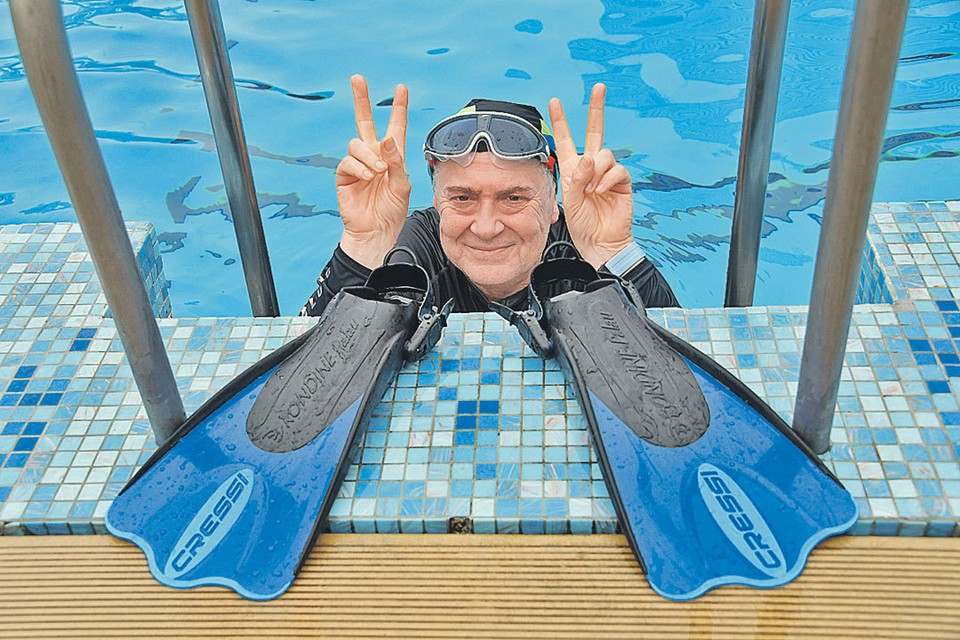 У Юрия Стоянова пенсия всем на зависть - больше 60 тысяч.