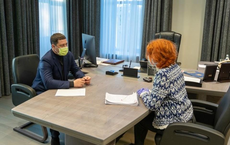 Михаил Ведерников и Анжелика Шундер.