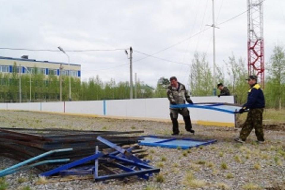 В Ханымее готовят стройплощадку под новый культурно-досуговый центр Фото: puradm.ru