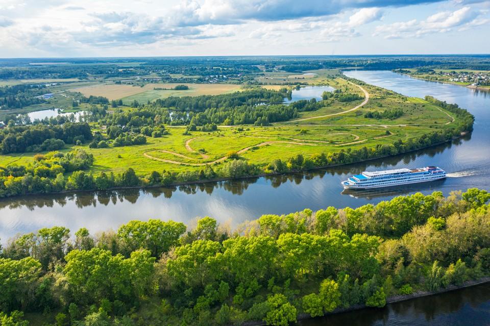 Около трети населения нашей страны проживает в районе бассейна Волги. Фото: shutterstock.com.