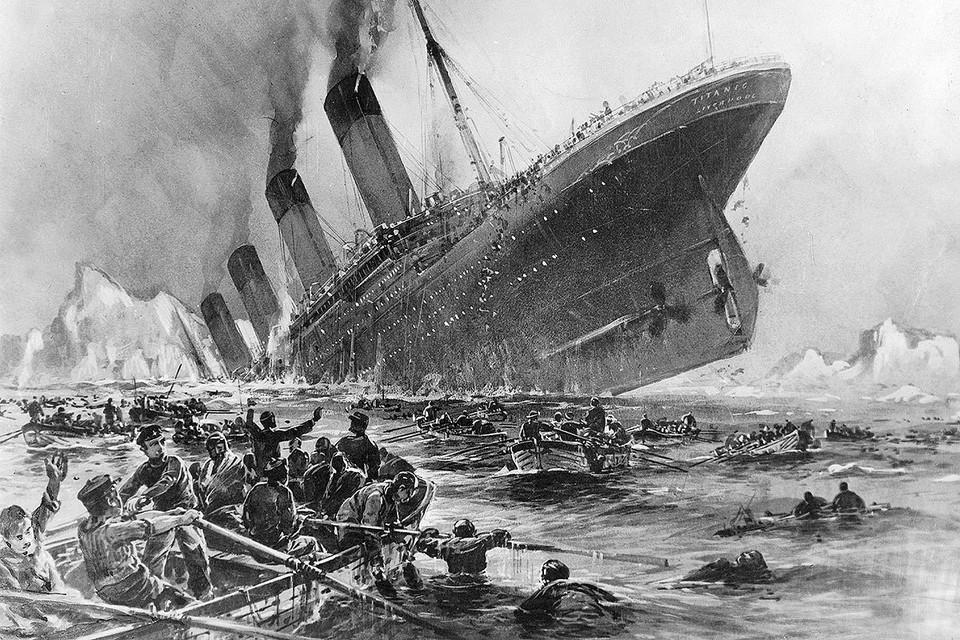 """""""Титаник"""" потерпел крушение в ночь с 14 на 15 апреля 1912 года во время первого рейса."""