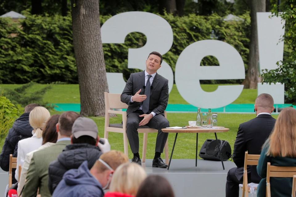 Стали известны новые пикантные подробности пресс-конференции Зеленского по случаю годовщины инаугурации