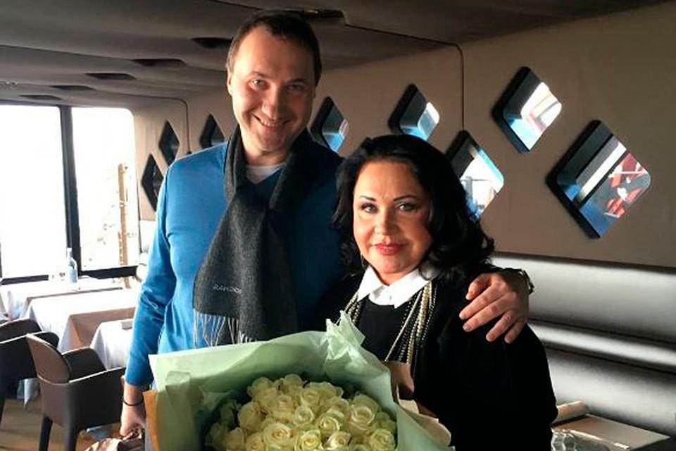Надежда Бабкина с сыном Данилой