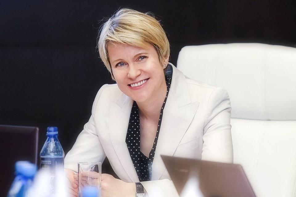 Руководитель фонда «Талант и успех» Елена Шмелева