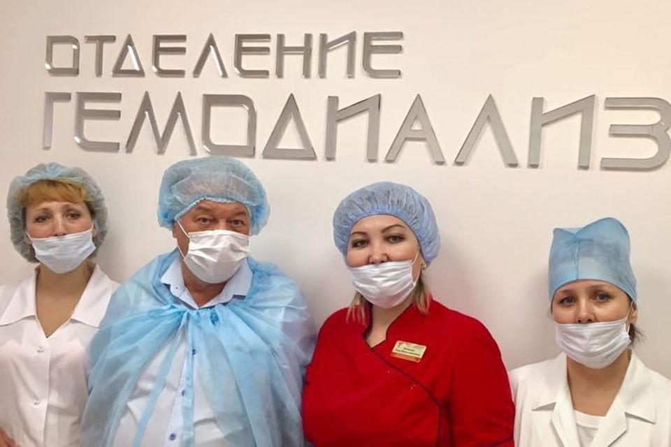 """В Оренбуржье благодаря """"Комсомолке"""" открыли диализный центр"""